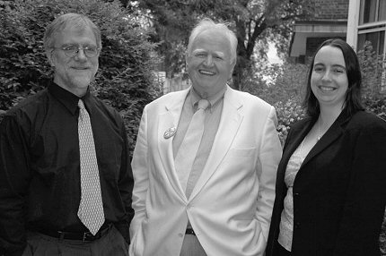 Howie Hawkins, Malachy McCourt and Alison Duncan, Green Party of New York State candidates in 2006.