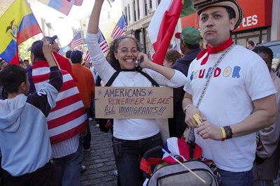 Day of Immigrants Rally: May 1, 2006: Union Square, NYC