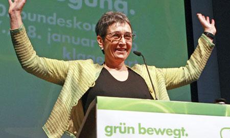 Ulrike Lunachek, Austrian MEP
